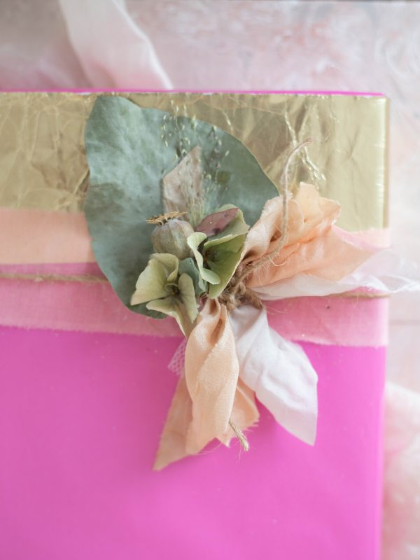 layer gift wrapping
