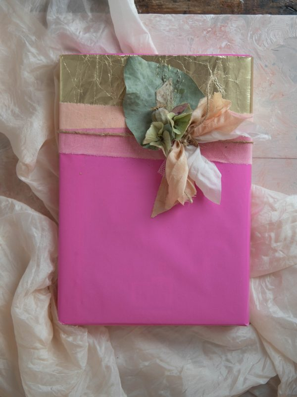 dried flower gift tag
