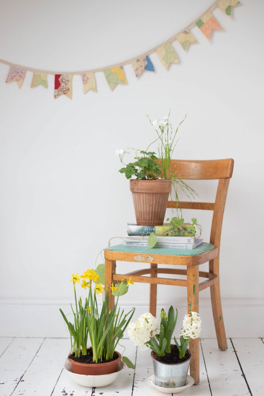 spring bunting styling