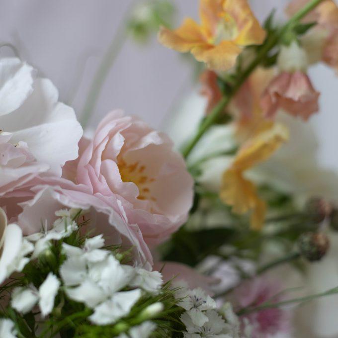 Beautiful summer cut flowers