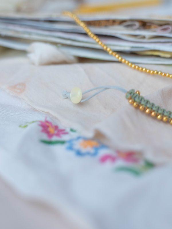 Button Bracelet Details